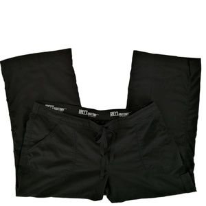 Grey's Anatomy Scrub Pants XL Petite 4245 Black